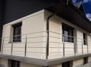 Balustrada nierdzewna zewnętrzna z profilu nierdzewnego