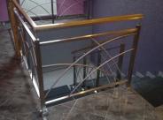 Balustrada nierdzewna projekt własny