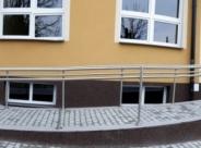 Balustrada - podjazd dla niepełnosprawnych
