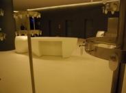 Wieszaki nierdzewne ice centrum