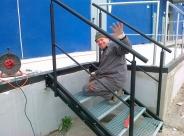 konstrukcja schodów Makro Tarnobrzeg