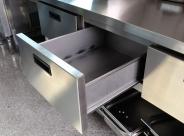 Meble gastronomiczne - stół z modułem szuflad