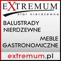 Extremum - meble gastronomiczne,balustrady nierdzewne,wygrodzenia,kojce ,antaby,odbojnice, odboje stalowe,schody,wózki wędzarnicze