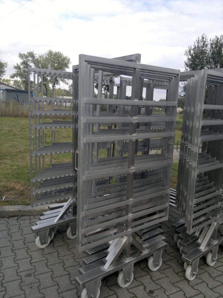 Wózki wędzarnicze -Extremum